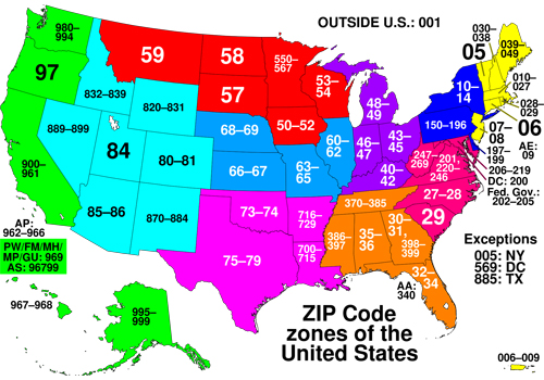 zip code là gì